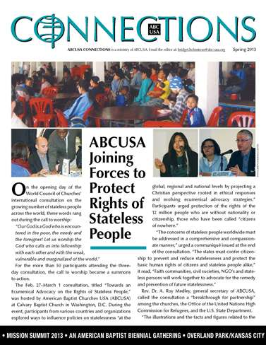 ABCUSA Connections Spring Issue!