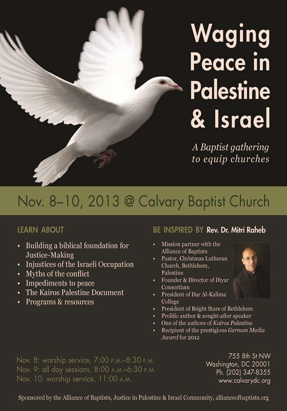 Waging Peace Conference - November 8-10
