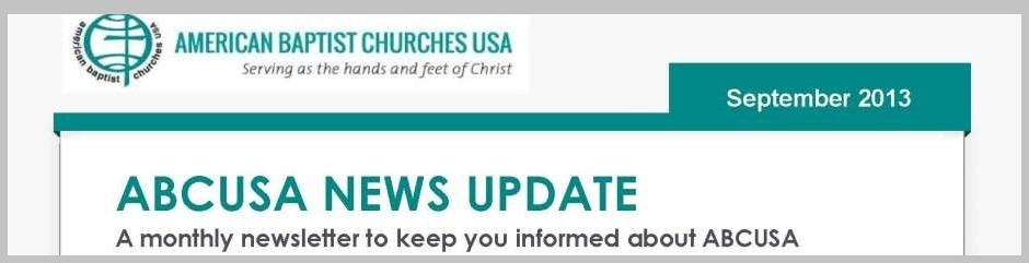ABCUSA News Update - September 2013.2