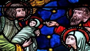 nativitystainedglassF