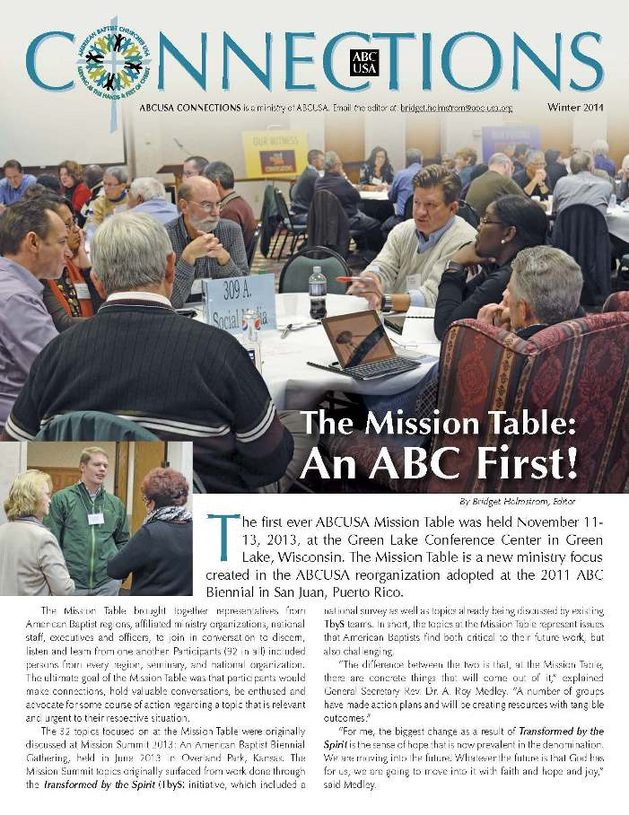 New Issue of ABCUSA Connections - Winter 2014