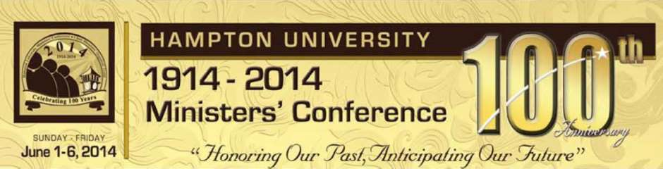 Hampton Univeristy Ministers ConferenceLOGOFeatured