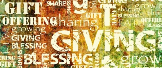 Generosity Is…Giving Ourselves to God