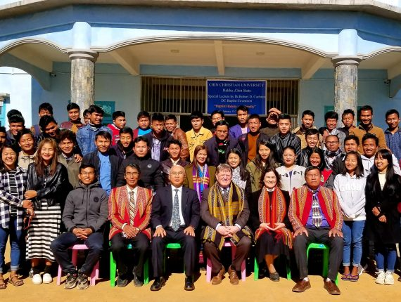 ABCUSA, DCBC Leaders Visit Chin Christian University, Lead Baptist History and Identity Lectures