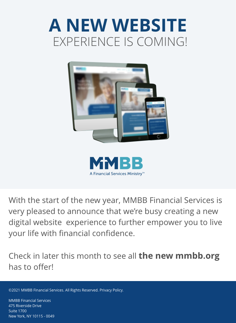 A New MMBB Website is Coming