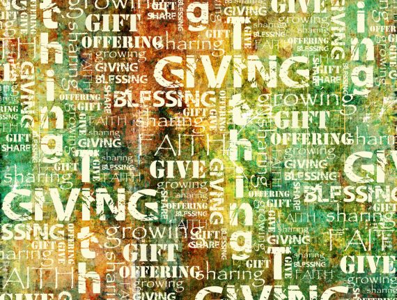 A Generosity Project Reflection: Is Generosity about Paying the Bills?